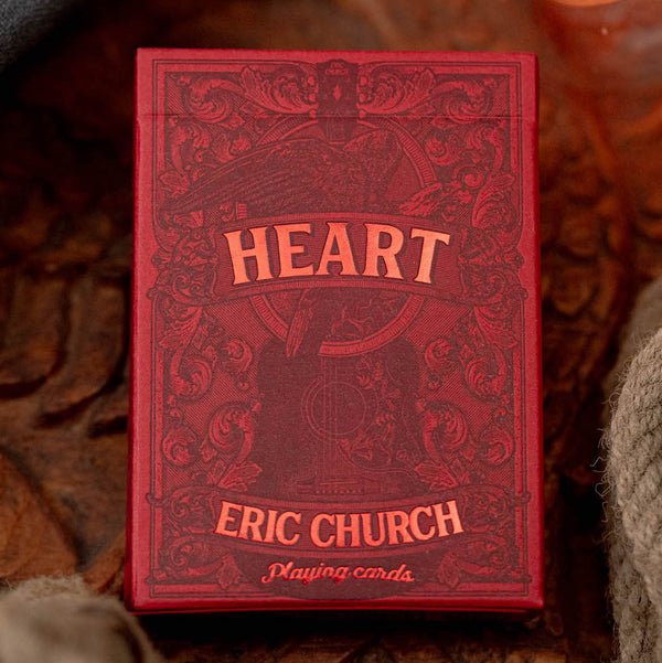 Eric Church Playing Cards - Heart