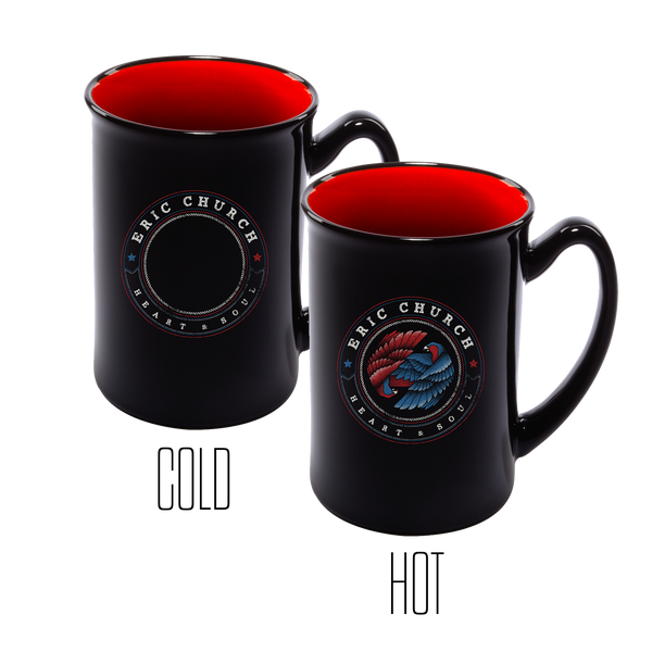 Dueling Eagles Mug - Red