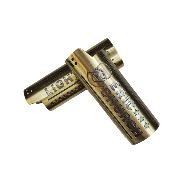 Chief Brass Lighter Sleeve