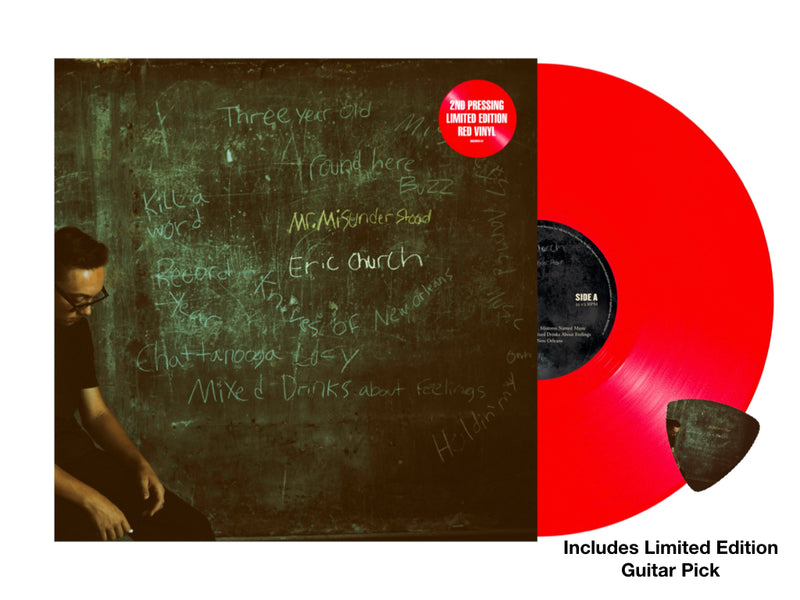 Mr. Misunderstood Vinyl - 2nd Pressing RED