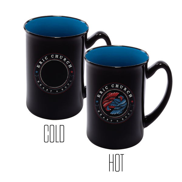 Dueling Eagles Mug - Blue