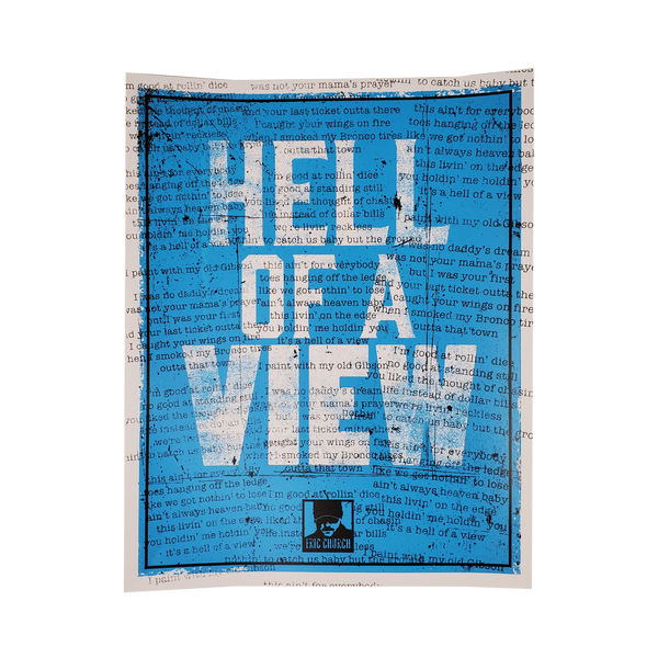 Hell Of A View Poster