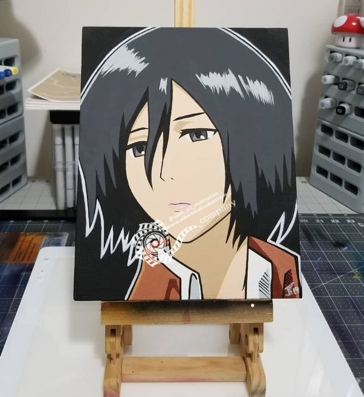 Mikasa From Attack On Titan