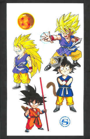 Kid Goku Evolution
