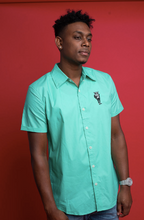 Load image into Gallery viewer, The Fly Hippo 'Verone' Mint Green Dress Shirt