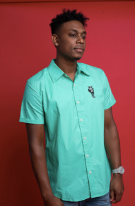 The Fly Hippo 'Verone' Mint Green Dress Shirt