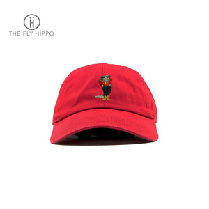 The Fly Hippo Red Baseball Cap