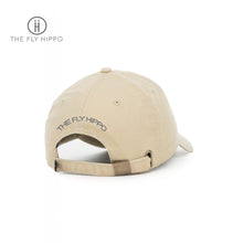 Load image into Gallery viewer, The Fly Hippo Washed khaki Cap Hat