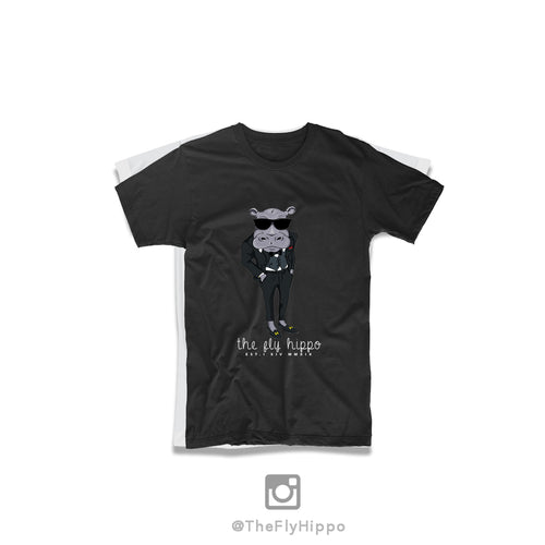 The Fly Hippo Black Signature T-Shirt