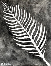 Load image into Gallery viewer, Palm Leaf Negative