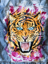 Load image into Gallery viewer, Tiger Denim Jacket