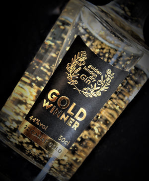 golden london dry gin