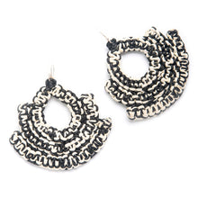 Load image into Gallery viewer, CARALARGA | Guerrera Earrings - Black