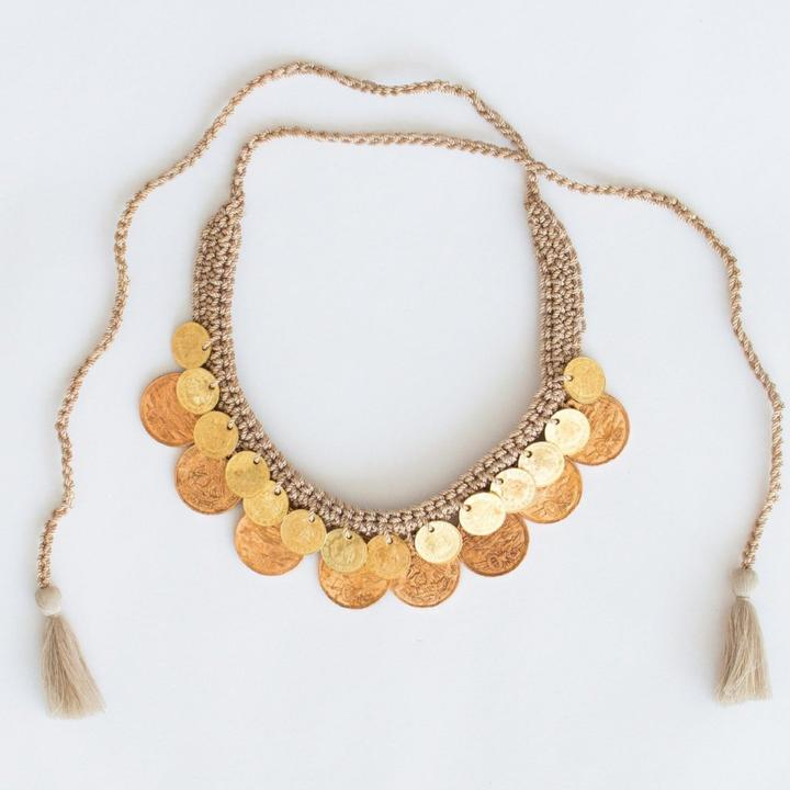 Daniela Bustos | Aguilas Necklace