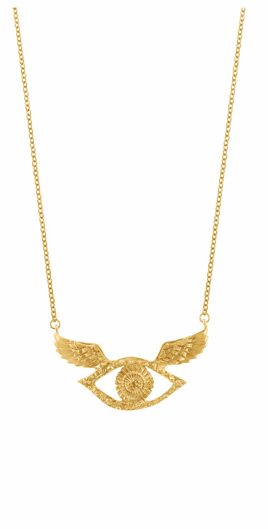 Sophie Simone | Wings Eye Necklace