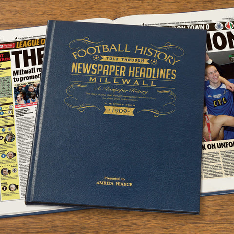 Millwall Football Newspaper Book