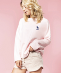 Ladies Oversized Soft Sweat Shirt