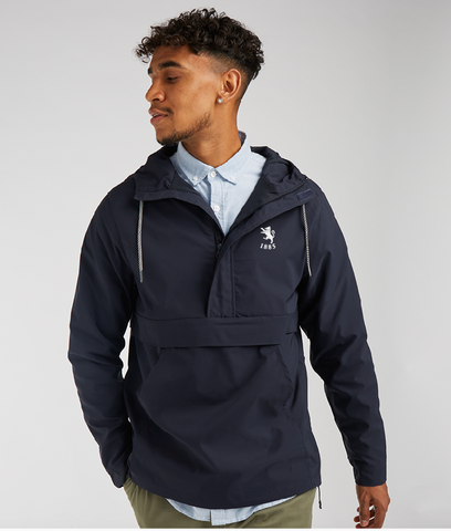 Pullover 1/2 Zip Lightweight Jacket