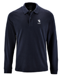 Long Sleeved Cotton Polo