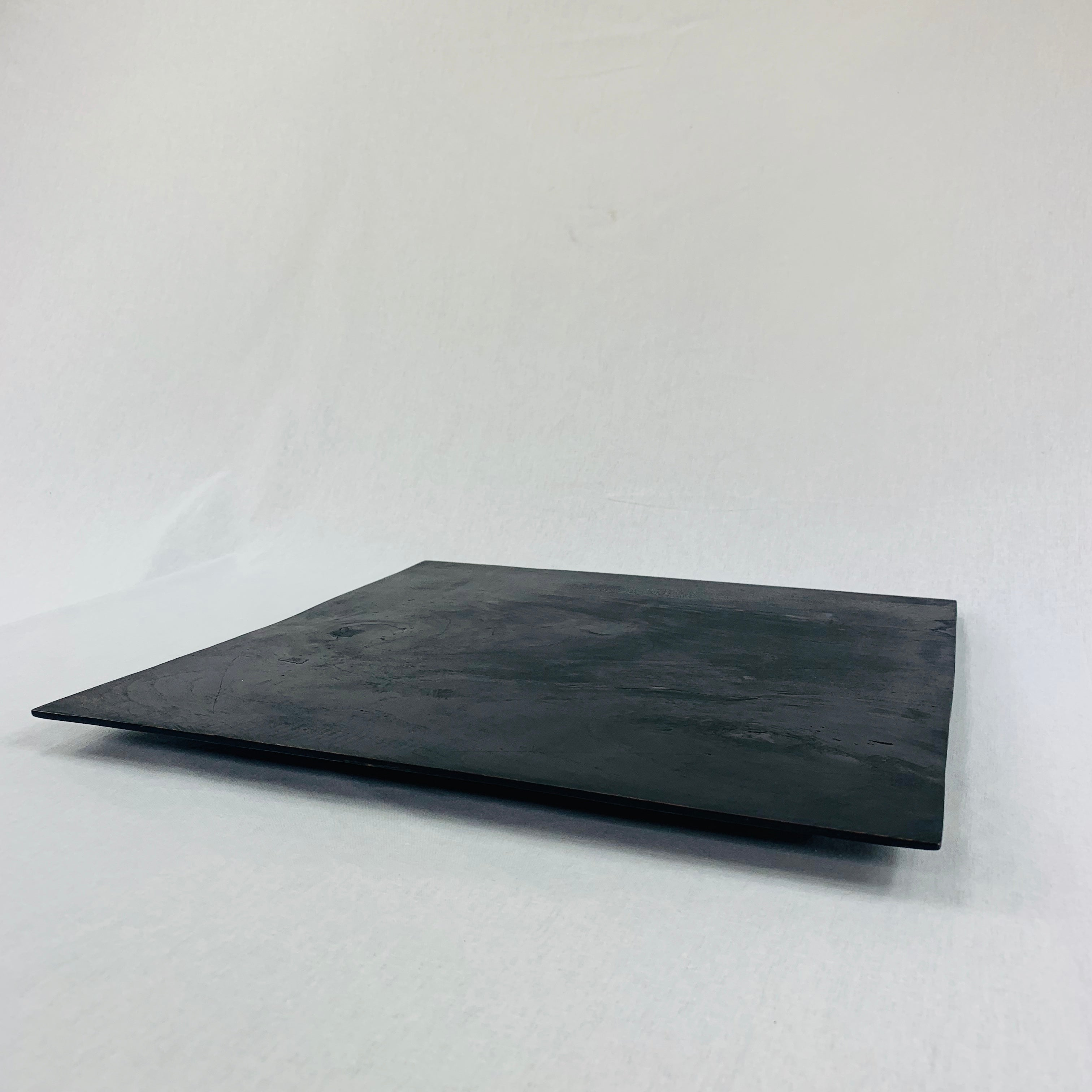 LARGE SQUARE HANDCRAFTED WOODEN TRAY