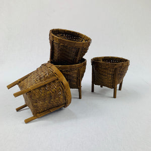 MINI NATURAL BAMBOO BASKET