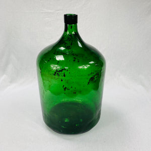 VINTAGE LARGE GREEN BOTTLE