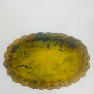 SMALL OVAL RUSTIC TRAY