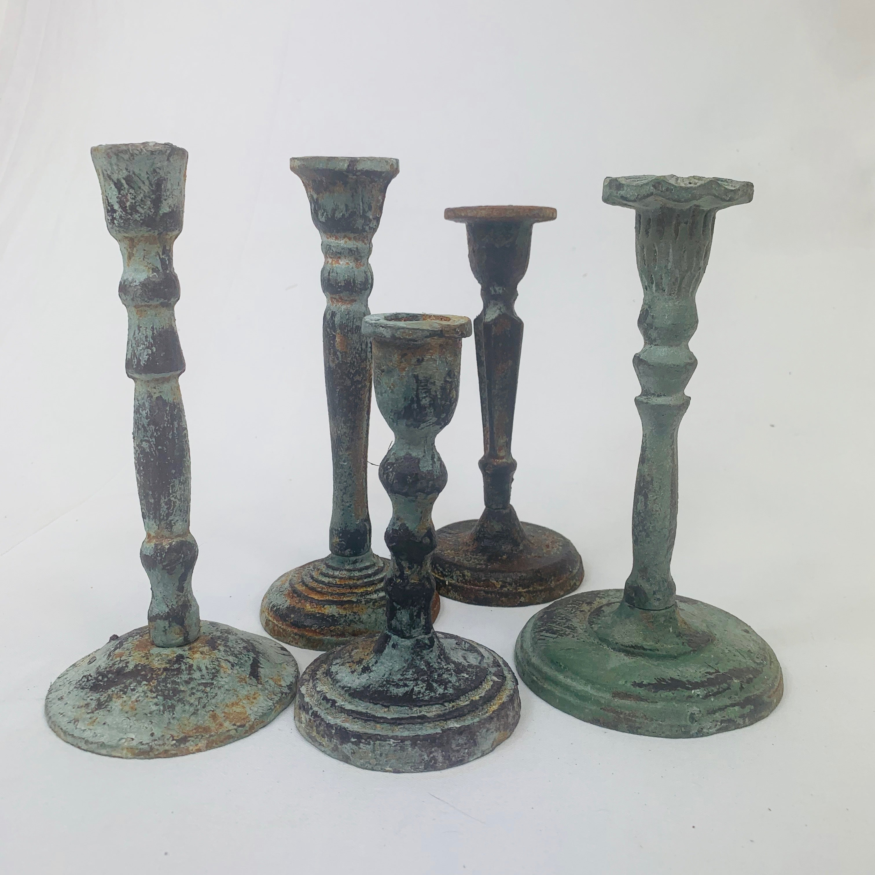 RUSTIC CANDLESTICK HOLDER