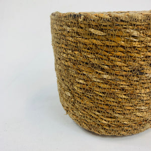 SEAGRASS BASKET POT