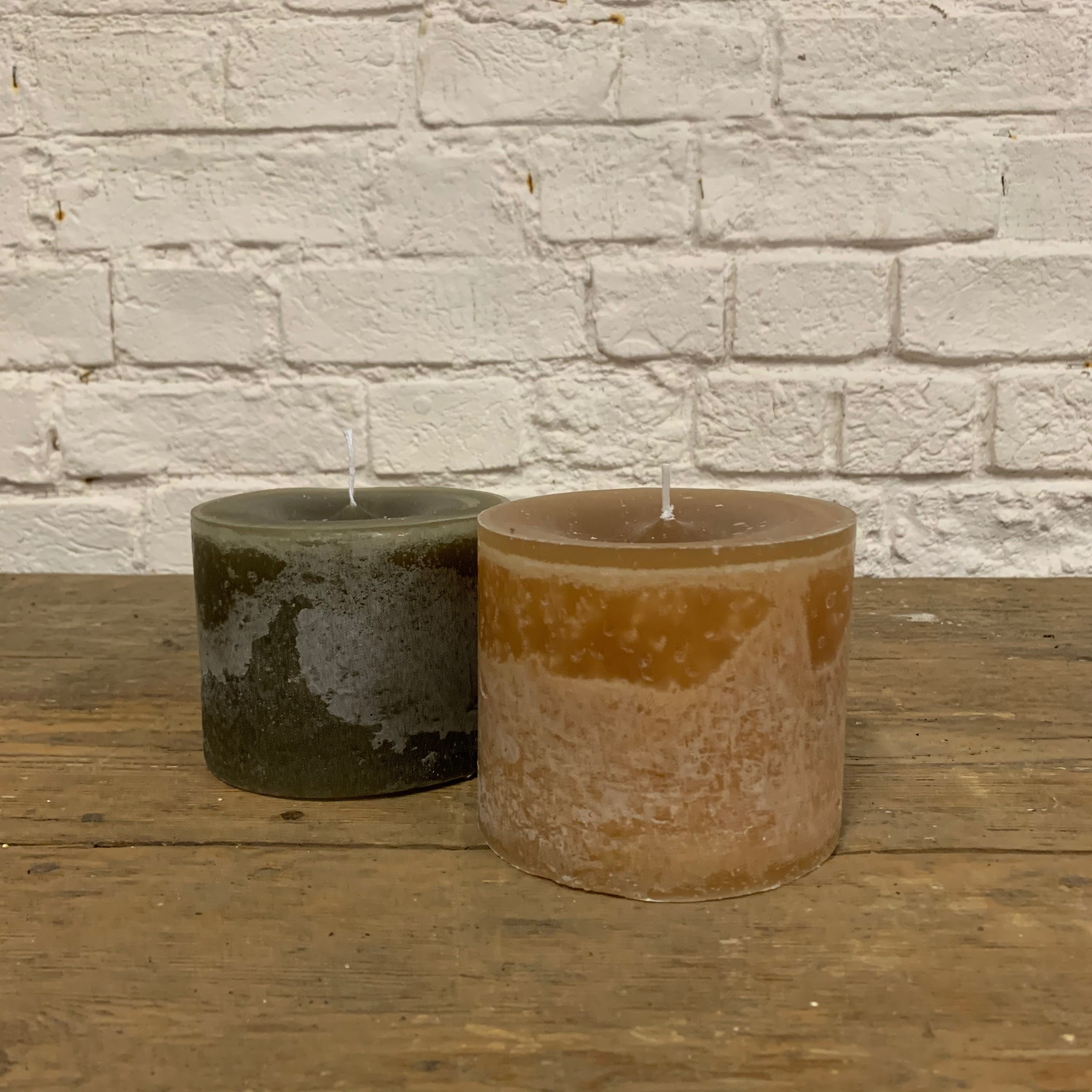 CHUNKY OCHRE CANDLE