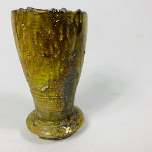 LARGE OCHRE TERRACOTTA POT
