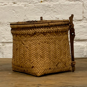 SMALL VINTAGE BORNEO BASKET