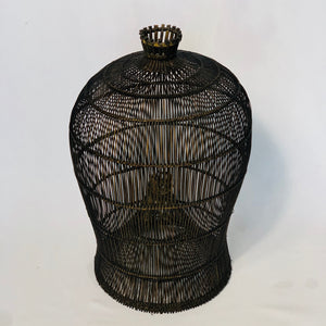 ANTIQUE FISH TRAP BASKET