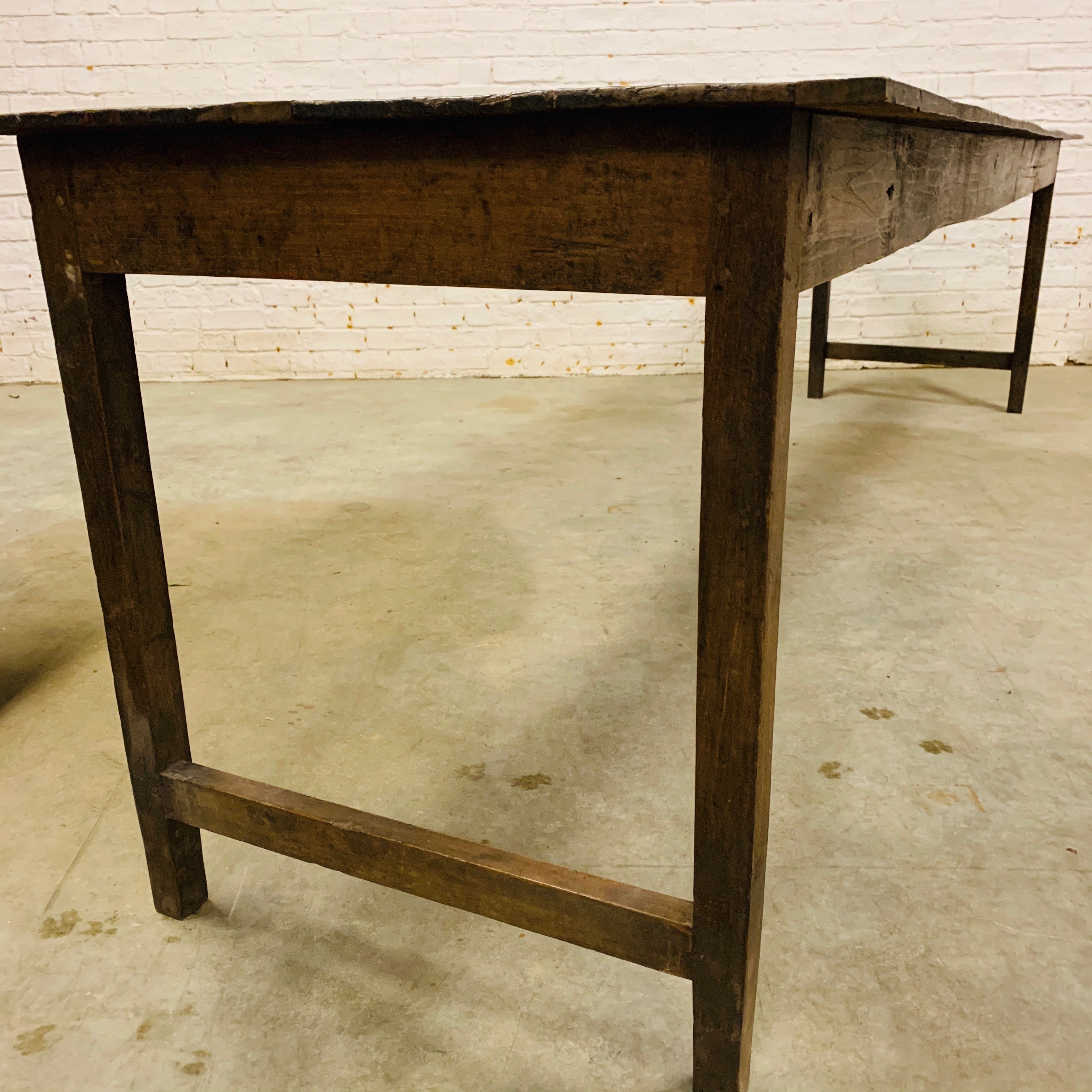 VINTAGE LONG DINING TABLE