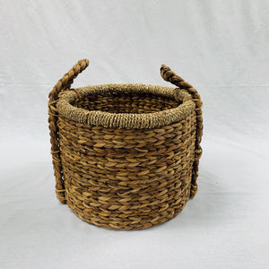MEDIUM WATER HYACINTH BASKET