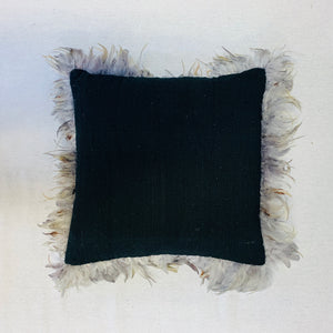 FEATHERED CUSHION COVER
