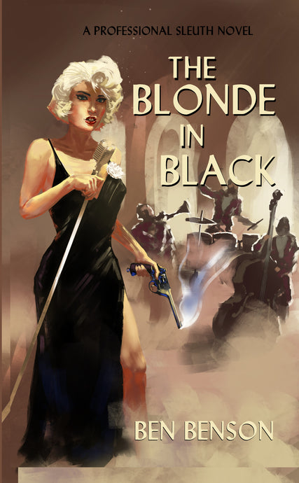The Blonde In Black