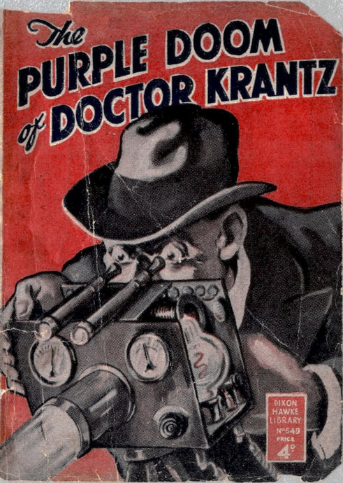 The Purple Doom of Doctor Krantz