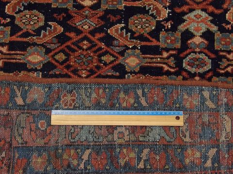 Image of Antique Persian Mir Hand-knotted 5x7 Wool W1040