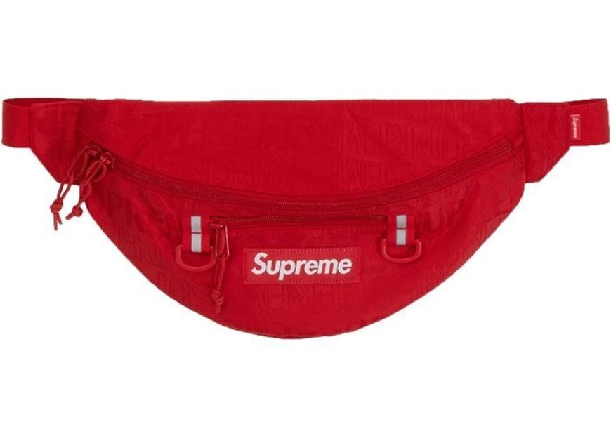Supreme Waist Bag (SS19) Red