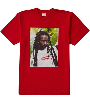 Supreme Buju Banton Tee Red
