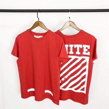 OFF-WHITE Brushed Diagonal S/S T-Shirt