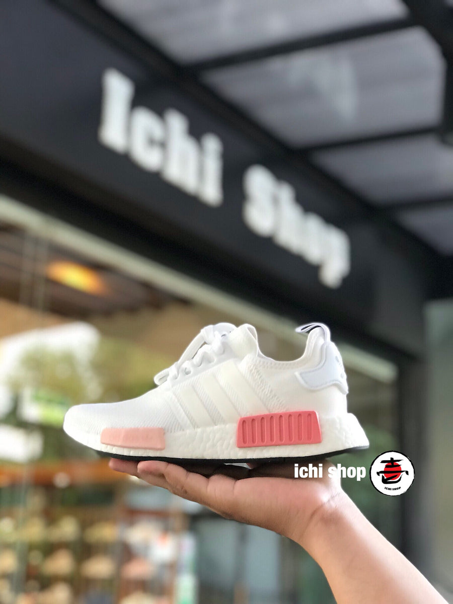 NMD R1 White Rose