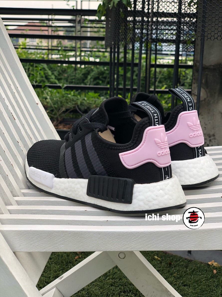 NMD R1 Black Clear Pink