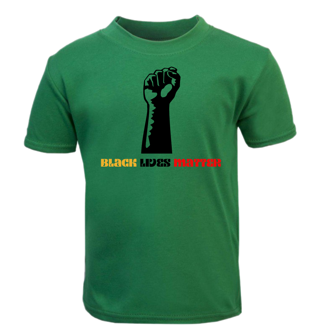 Green Black Lives Matter Tee
