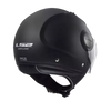 CASCO ABIERTO LS2 AIRFLOW SOLID NGO/MATE