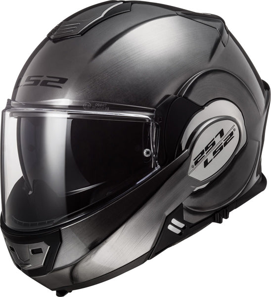 Casco abatible LS2 Valiant 180 degrees Jeans Titanium