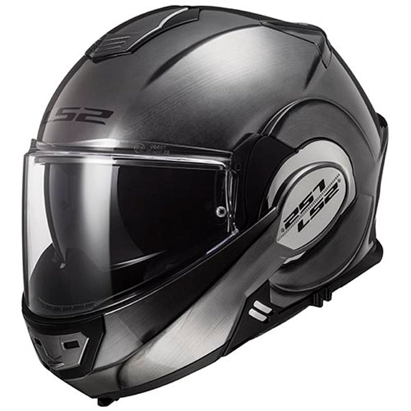 Casco abatible LS2 Valiant 180 degrees Titanium