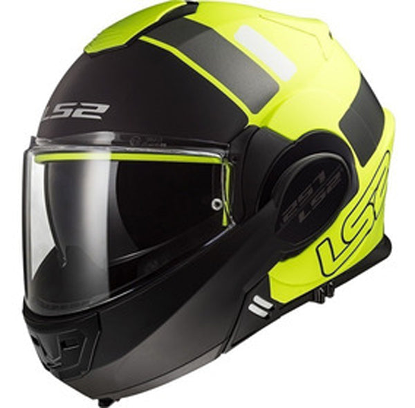 Casco abatible LS2 Valiant 180 degrees Prox Amarillo Fluo