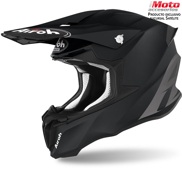 CASCO AIROH TWIST 2.0 COLOR - BLACK MATT